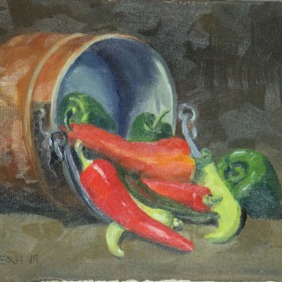 Pot of Peppers