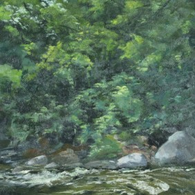 Rice Creek at Banfill Locke - Plein Air