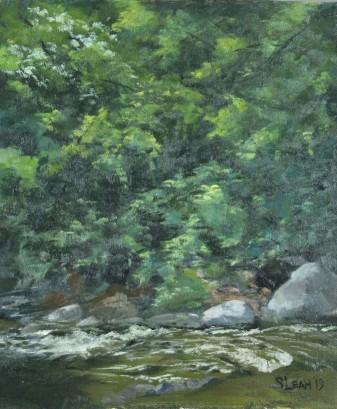 Rice Creek at Banfill Locke - Plein Air