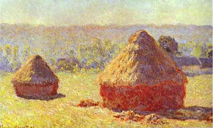 Monet Hay Stack