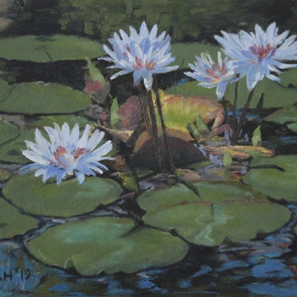 Lotus - Plein Air