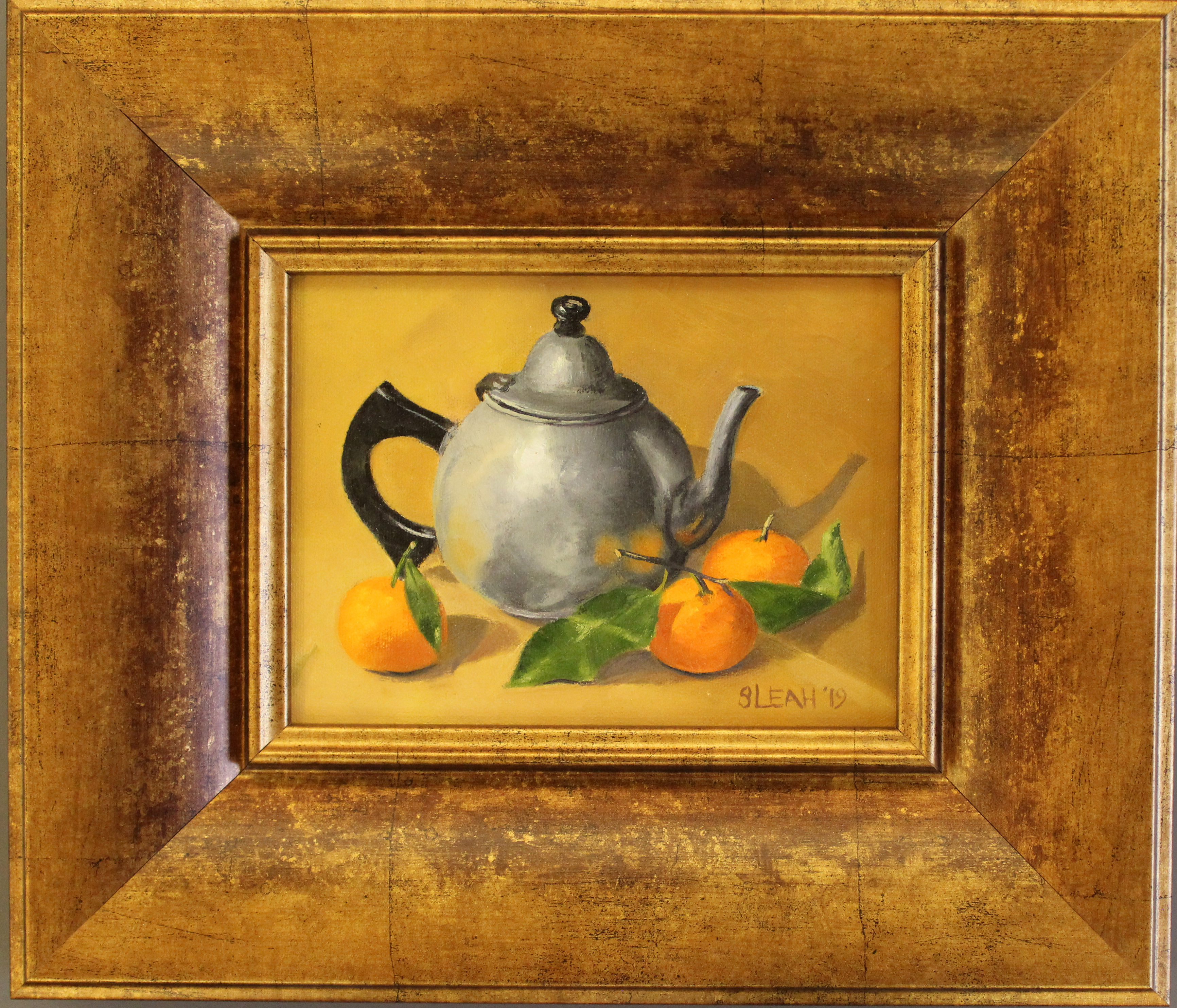 Tea and Clementines Framed