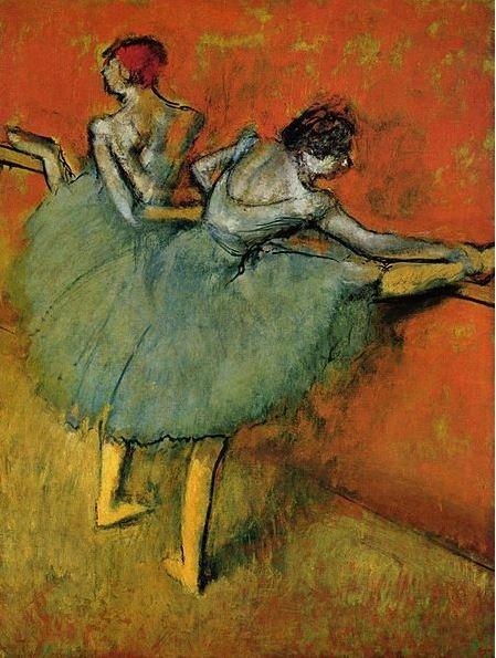 Dancers at the Bar-Edgar Degas